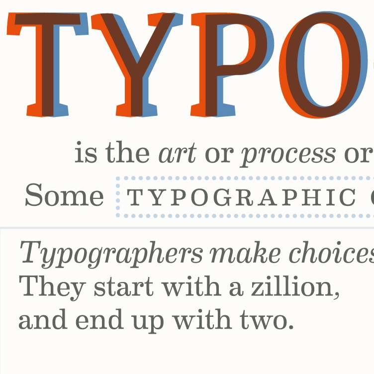 Typographic